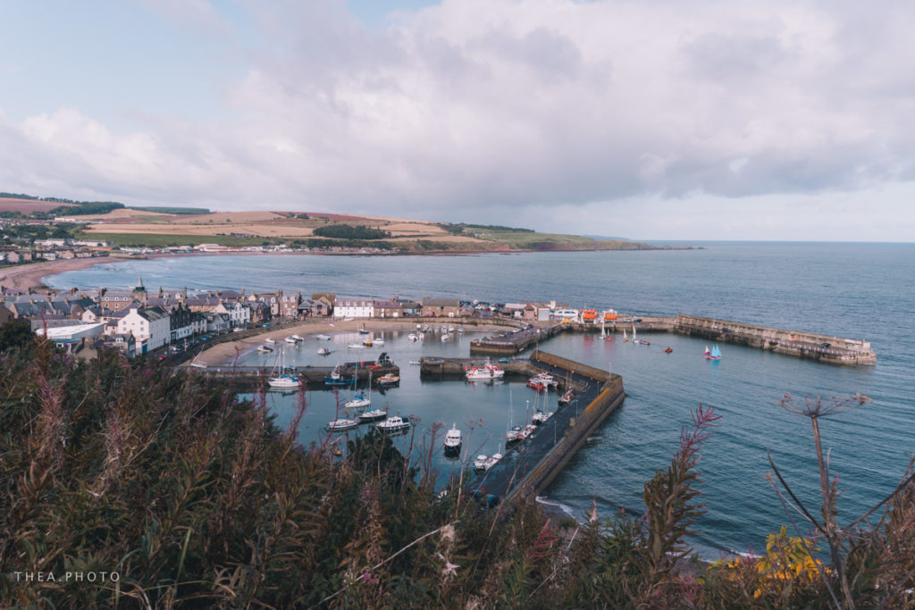 The harbour of Stonehaven.