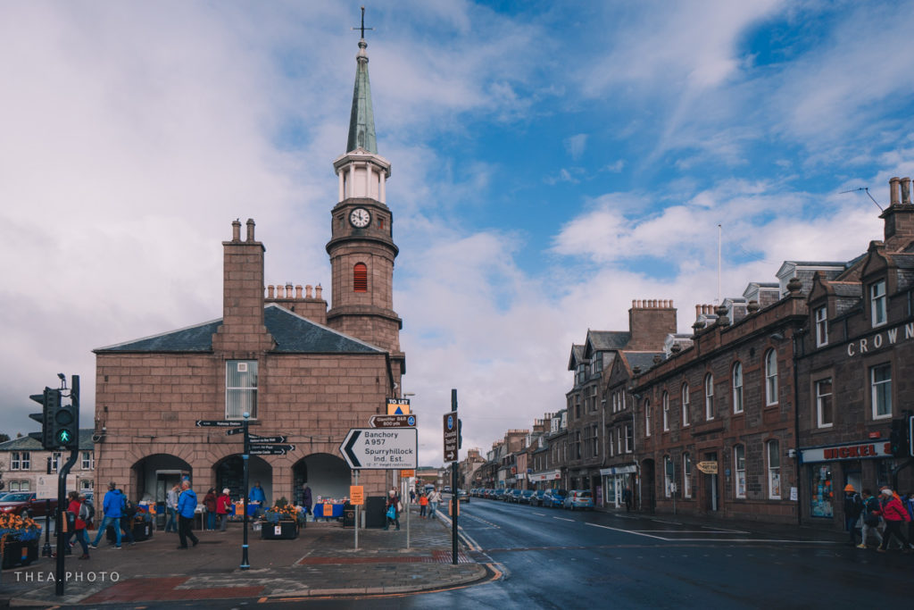 Stonehaven, a small harbour town