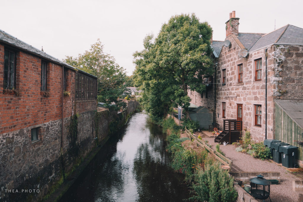 The walk through Stonehaven is very beautiful