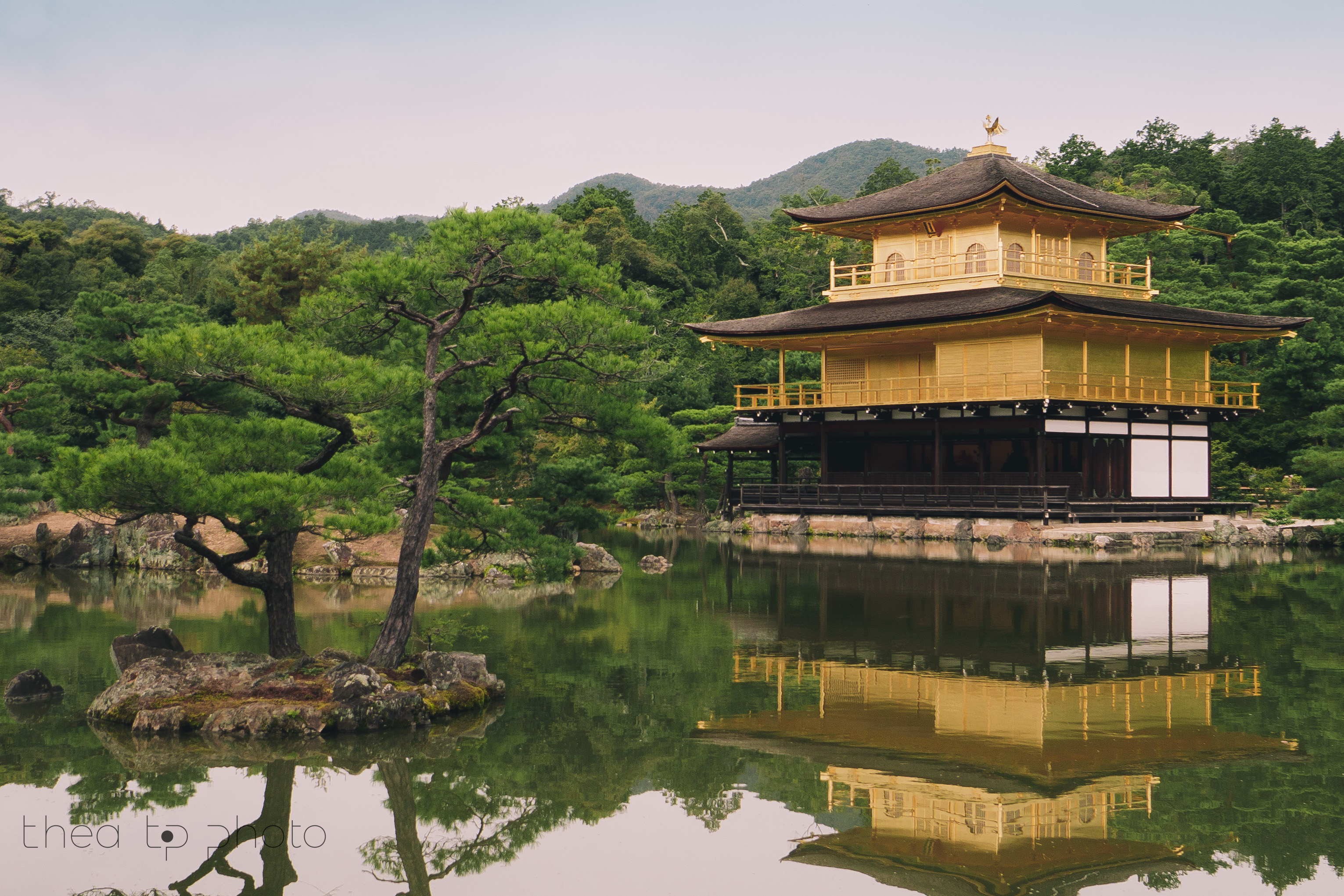 The Golden Temple, a must visit when in Kyoto